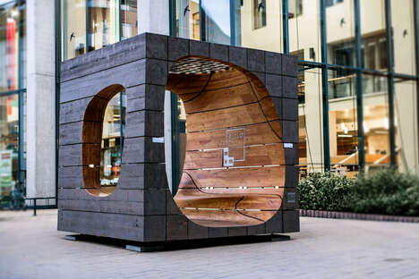 Tech-Infused Public Furniture