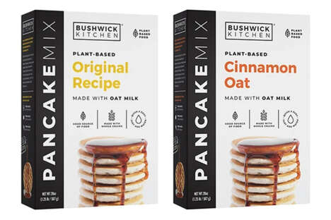 Oat Milk Pancake Mixes