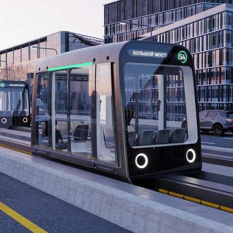 Autonomous Monorail Pods