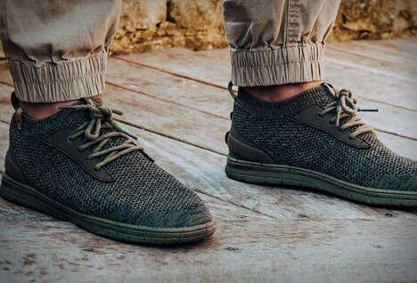 Bio-Based Knit Sneakers