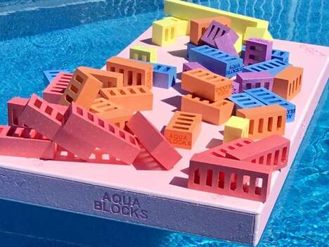 Building Block Pool Toys