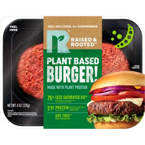 Meaty Plant-Based Patties