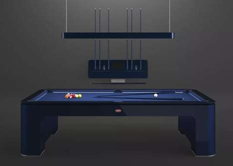 Opulent Yacht-Ready Pool Tables