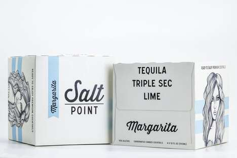Premixed Canned Margarita Cocktails