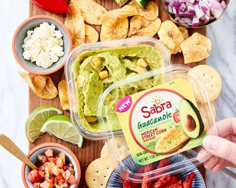 Mexican Street Corn-Infused Dips