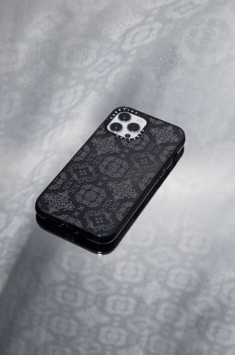 Silky Patterned Phone Cases