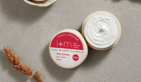 Sustainable Deodorant Creams