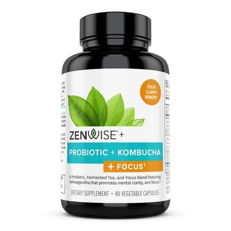 Cognitive Support Kombucha Supplements