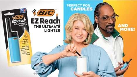 Celebrity-Endorsed Lighter Campaigns