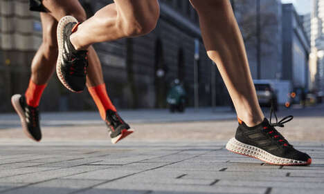 3D-Printed Running Shoes