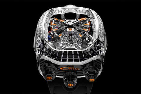 Opulent Automotive Timepieces
