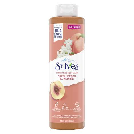 Jasmine Exfoliating Body Washes