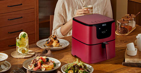 3D Heat Flow Air Fryers