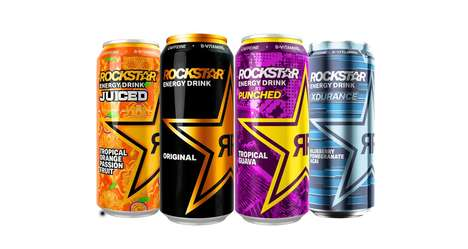 Vitamin-Enriched Energy Drinks