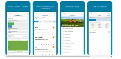 Personalized Allergy Alert Apps