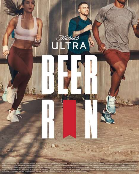 Branded Workout Beer Giveaways