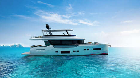 Luxury Interior-Focused Yachts