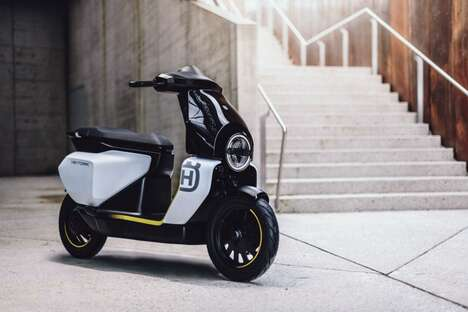 Conceptual Urbanite Electric Scooters