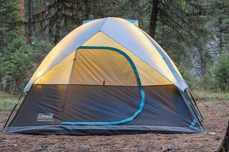 Tech-Infused Camping Tents