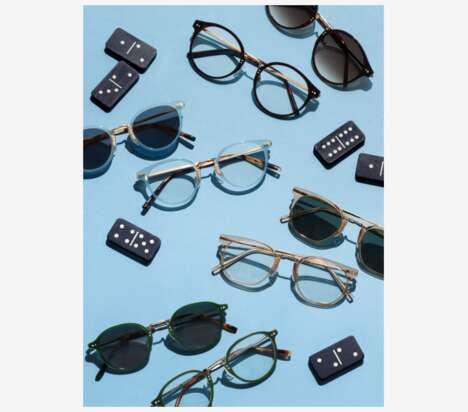 Mixed-Material Eyewear Frames