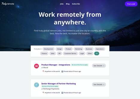 Location-Independent Job Boards