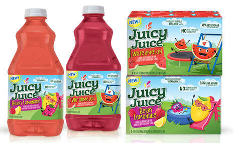 Lower Sugar Juice Products