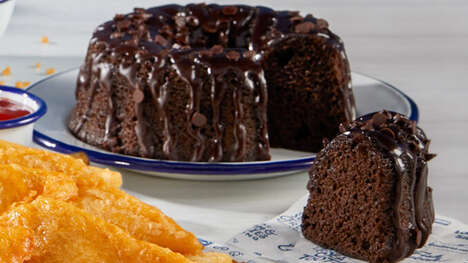 Triple Chocolate Bundt Cakes
