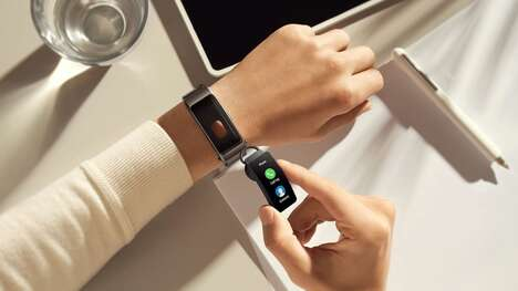 Earphone-Equipped Fitness Trackers