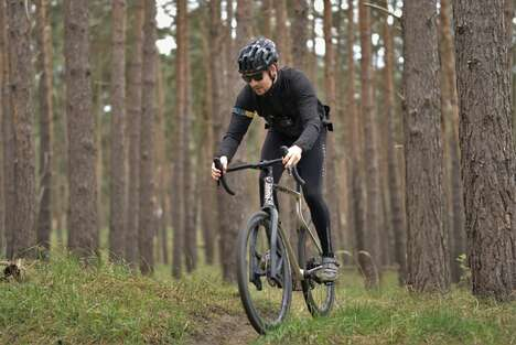 Off-Road Shock Absorption Bicycles