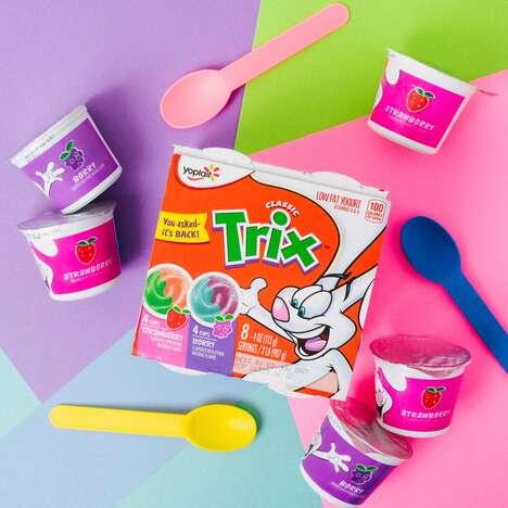 Cereal-Flavored Yogurts