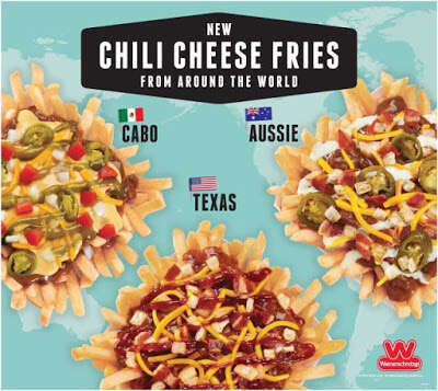 Global Cheese Fries Lineups