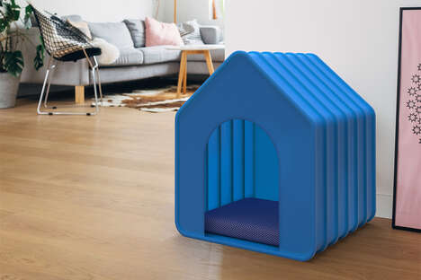 Accordion-Style Pet Houses