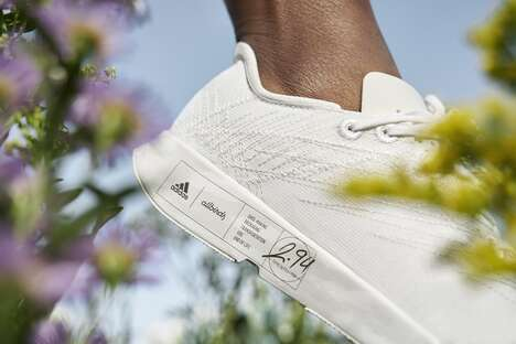 Co-Branded Low Emission Sneakers
