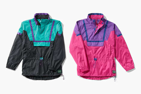 Flashy 90s-Style Outdoor Apparel