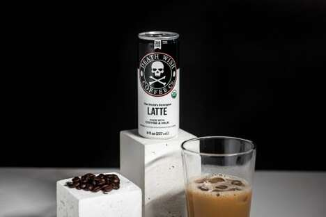 Triple-Caffeine Canned Coffees