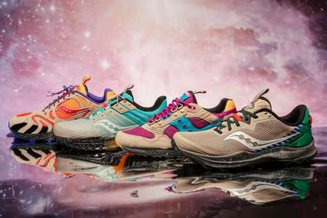 Whimsically Designed Trail Shoes