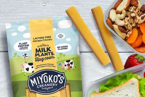 Plant Milk Cheese Sticks