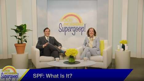 Sunscreen Talk Show Spoofs