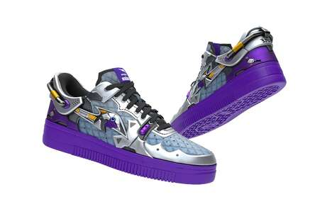 Limited-Edition Digital Sneakers