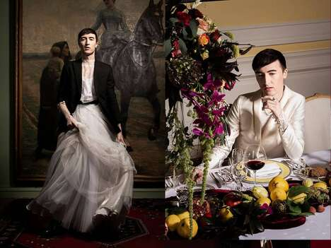 Gender-Neutral Bridalwear Campaigns