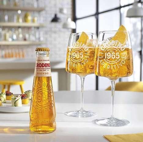 Alcohol-Free Italian Aperitivos