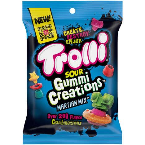 Buildable Alien Gummies