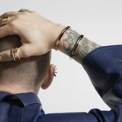 Lux Genderless Jewelry Collections
