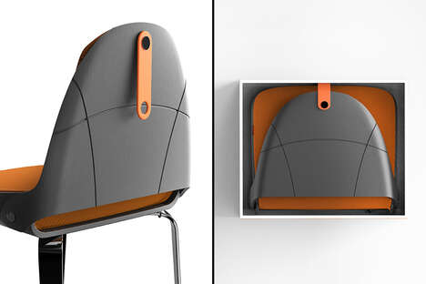 Collapsible Backpack-Style Seats