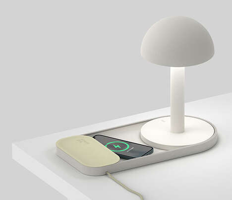 Detachable Tech-Charging Desk Lamps