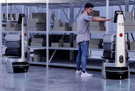 Intelligent Warehouse Management Robots