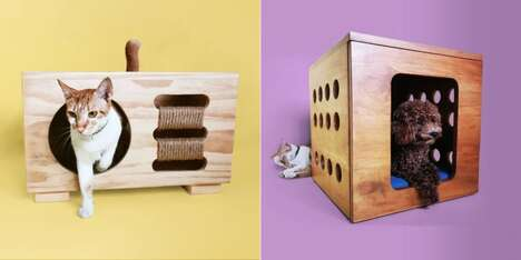 Functional Decor Pet Furniture