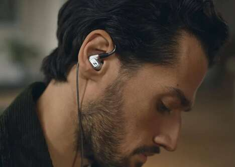 Milled Aluminum Earphones