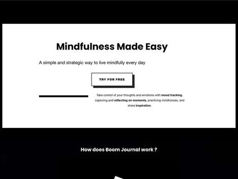 Minimalist Mindful Journal Apps