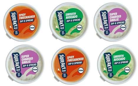 Versatile Dairy Free Dips